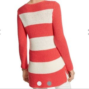 Chico's Striped Pullover Chunky Sweater